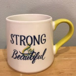 Threshold Dining - 💥3/$10💥 NWOT Threshold Strong & Beautiful Mug